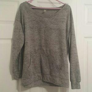 Other - Gray Speckled Sweatshirt